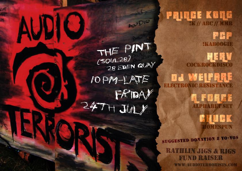 Jigs & Rigs Fund Raiser - Audio Terrorists