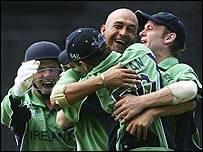 Botha takes a wicket