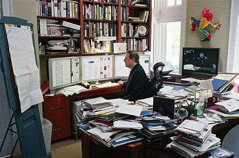 Al Gore at work
