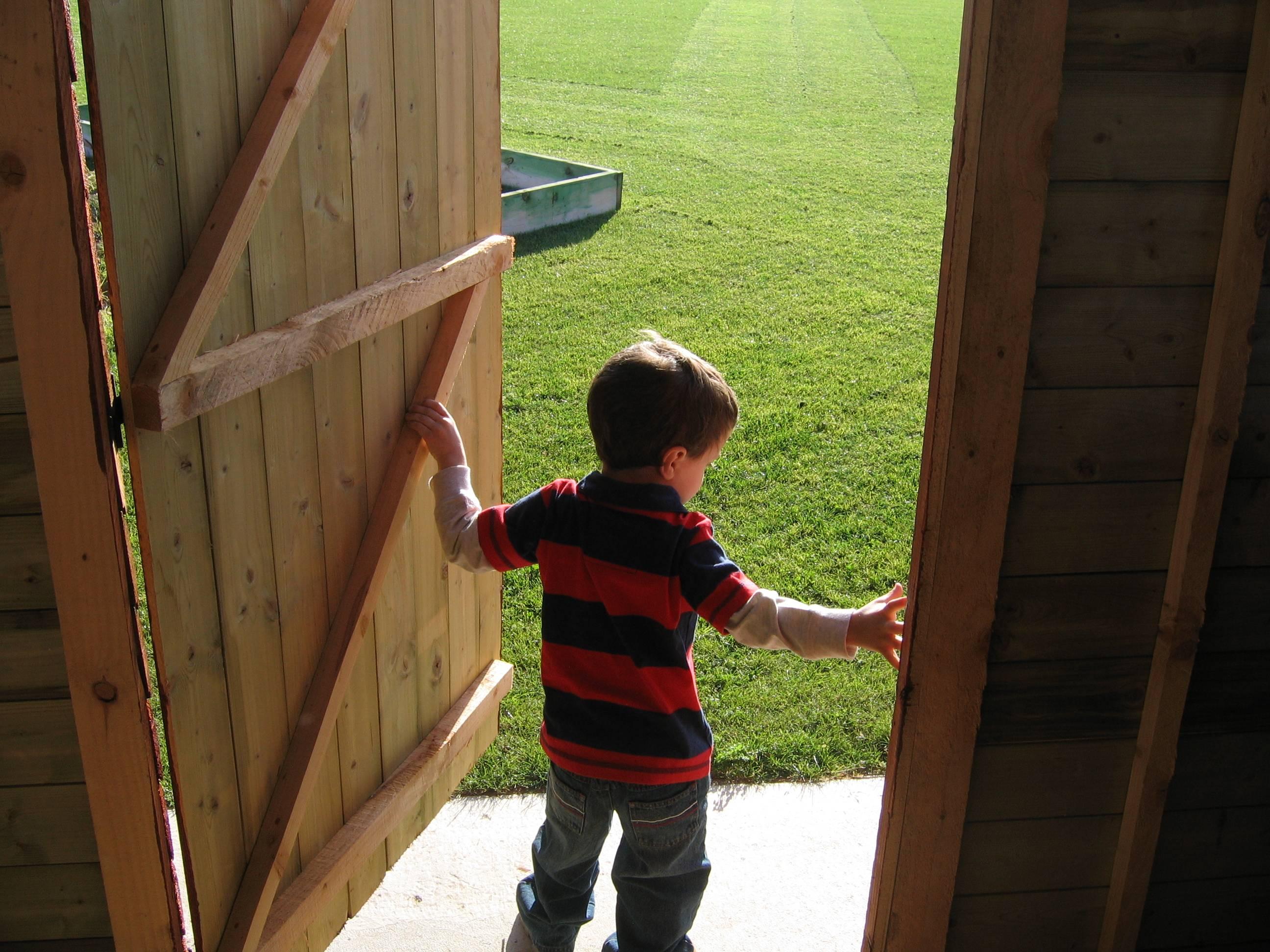 My nephew in Wexford
