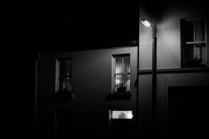 Night light - Photo by Alex Leonard