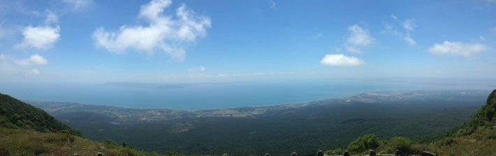 View from the top of Bokkor