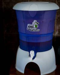 A Super Tunsai water filter - Cambodian made!