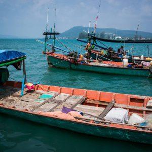 Fishing boats - Photo by Alex Leonard